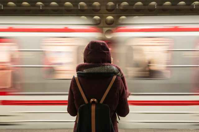 Come si dice in italiano? Alla stazione dei treni.