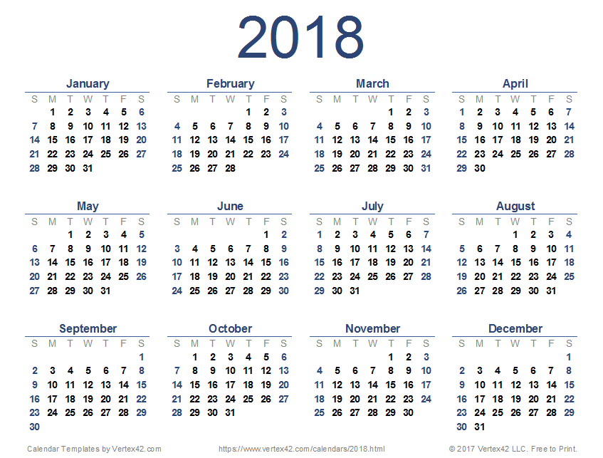 2018 school calendar language exchange international