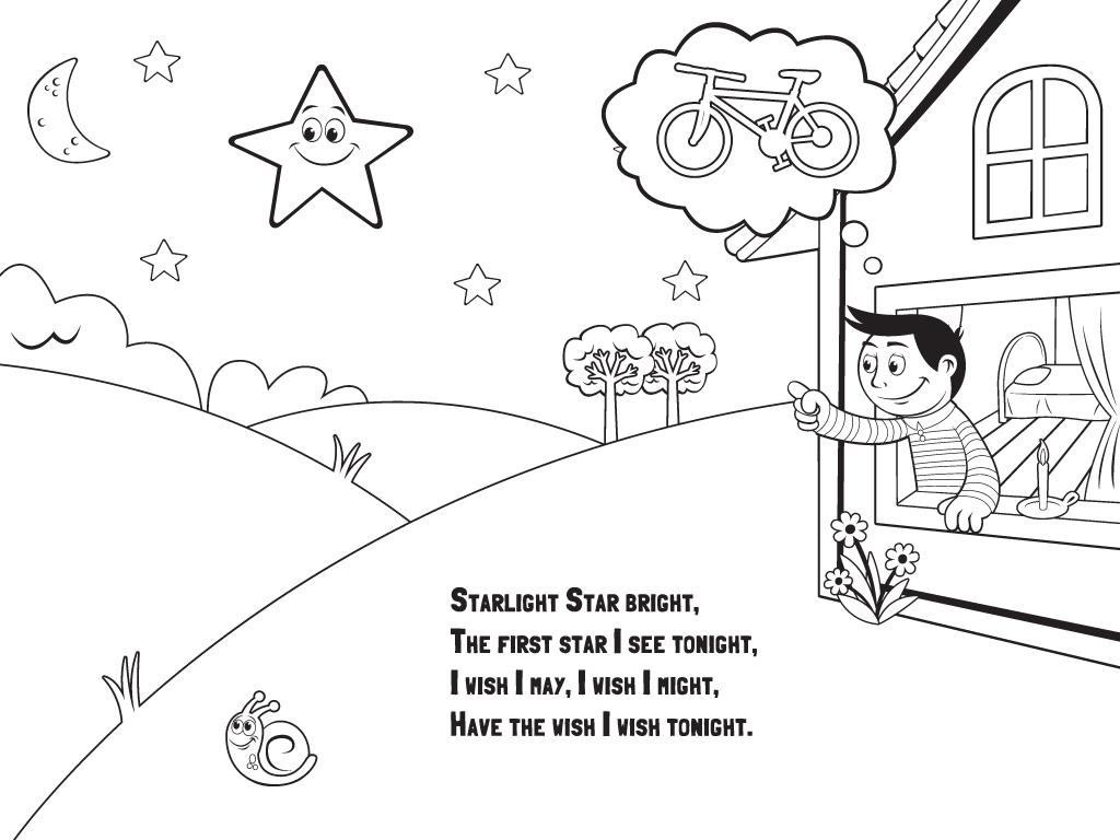 Star Light Worksheet