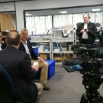 Language of Business TV Filming: Disruptive Technologies