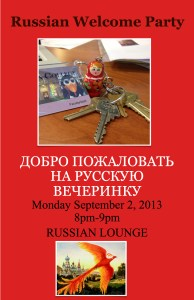 Russian Welcome Party_Fall 2013