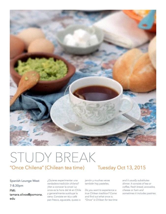 Study break october