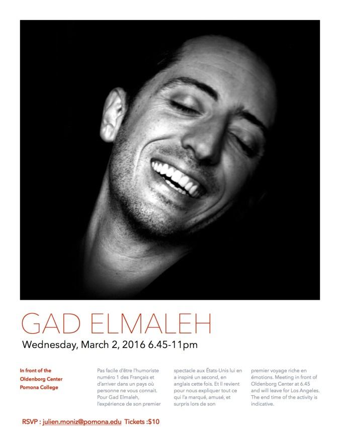 Poster Gad Elmaleh JPG