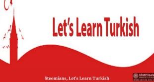 قسم اللغة التركية