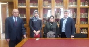 زيارة ا. د. امير الخالدي الى تركيا