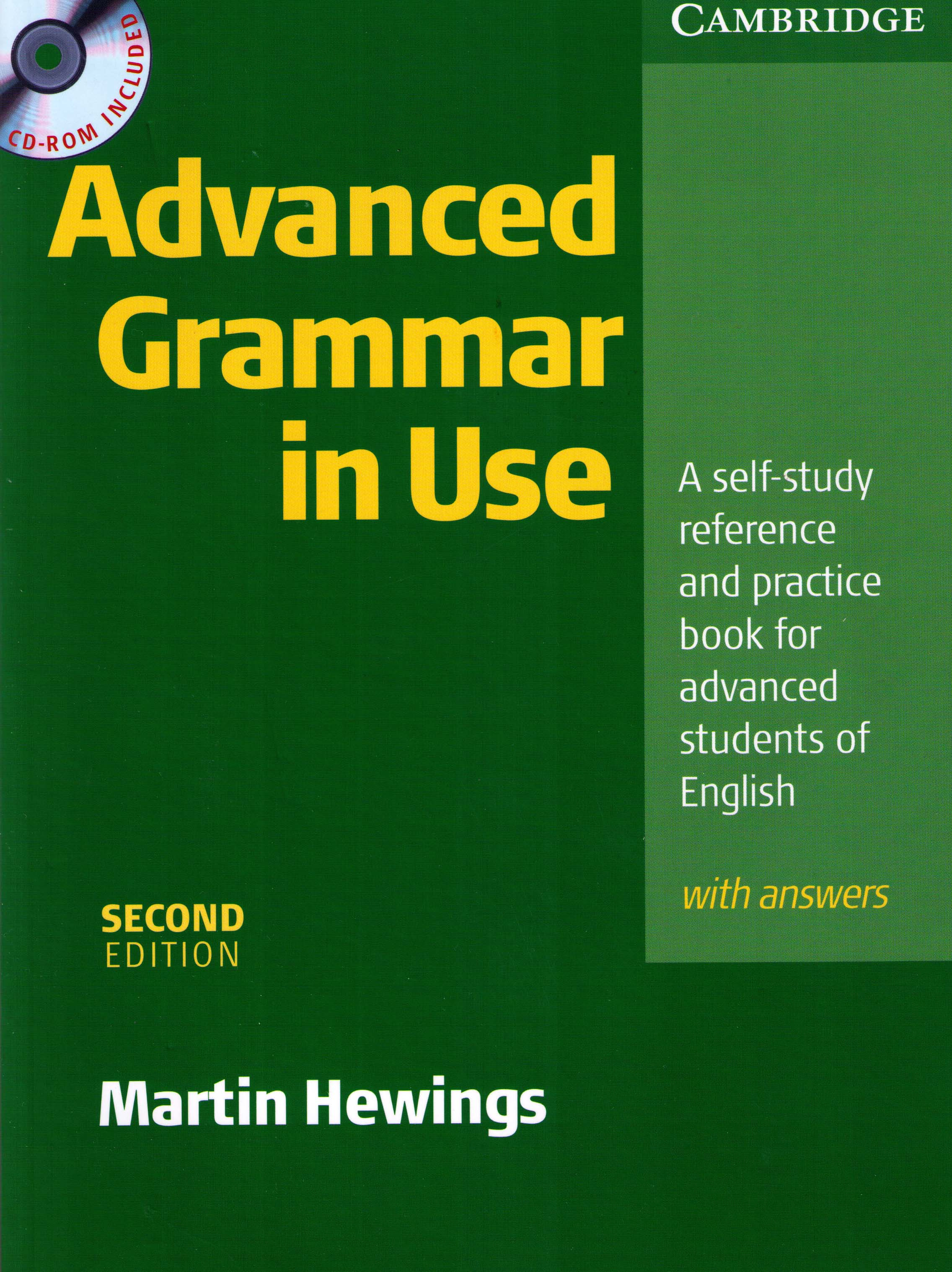 Advanced Grammar In Use Martin Hewings English Course