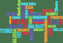 au commencement langues