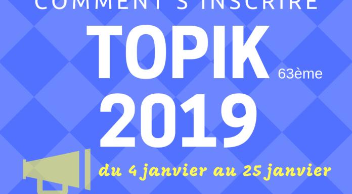 Topik 63 France 2019