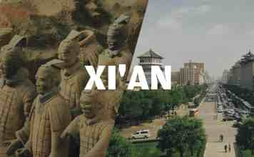 xian ville chinoise - finnair