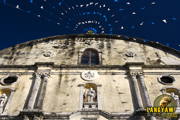 Tayabas Church in Quezon during a feast