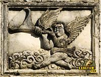 Facade relief of Argao Church