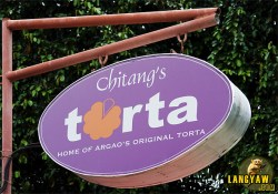 """A must stop in Argao is Chitang's for its delicious """"torta"""""""