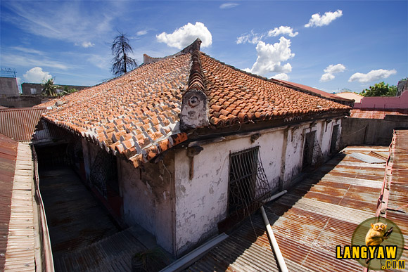 Second storey of the Jesuit House of 1730 is still standing and in good condition