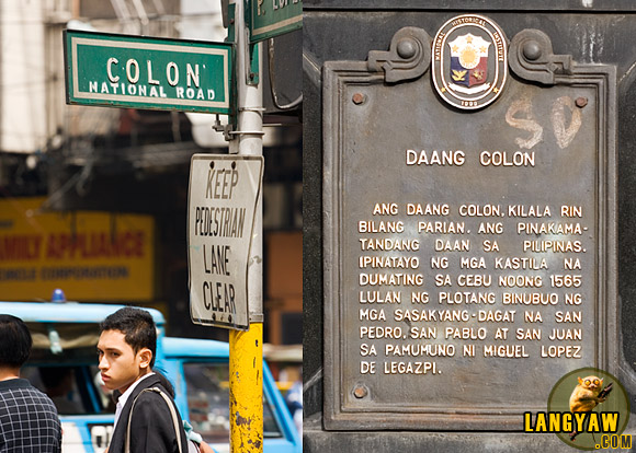 Historic Colon St. is the oldest street in the Philippines