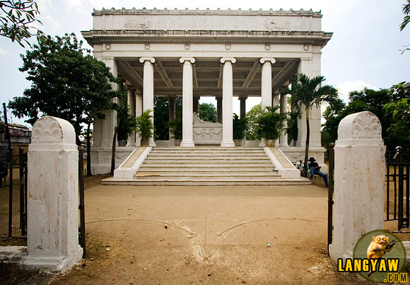 The Osmena Mausoleum in the old Carreta cemetery