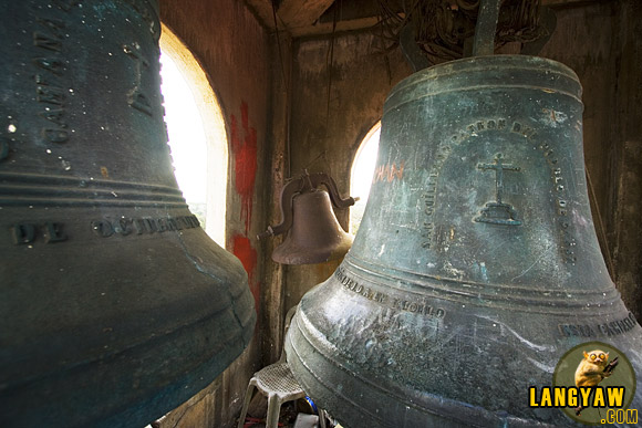 The antique bells of Passi Church