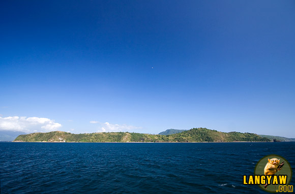 Verde Island between Calapan, Oriental Mindoro and Batangas