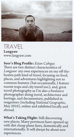 Langyaw featured in Expat Magazine