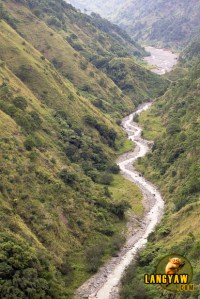 A tributary to the Ambuklao Dam, Bokod, Benguet.