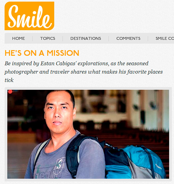 Ang Langyaw in SMILE Magazine
