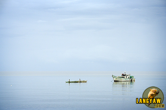 Early morning boats in Danao City, Cebu