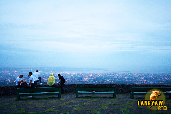 Guests at The Tops gets a good view of Cebu City and Mactan Island