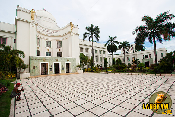 The Cebu Capitol built in 1937