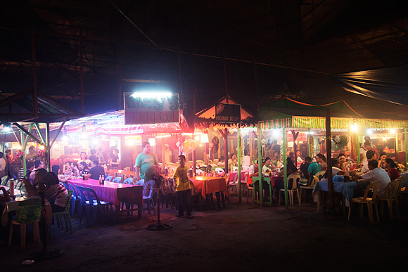 Larsians is a popular food place usually of the barbecue kind
