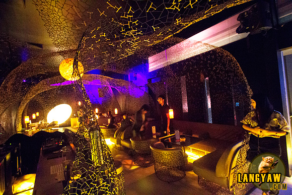 Vudu's interior, a club that is popular with the party crowd