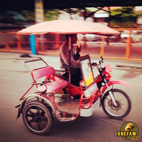 Payong-payong tricycle of Cotabato City