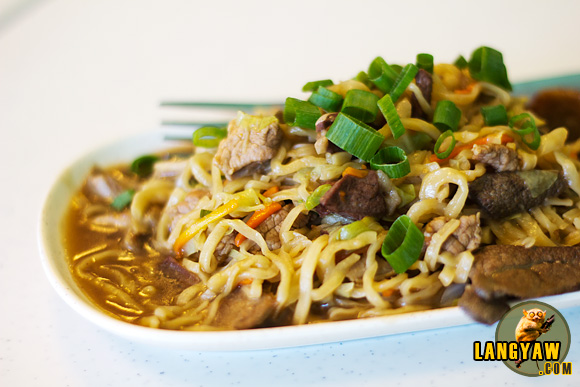 Delicious pansit guisado of Bagong Lipunan in Cagayan de Oro City