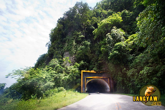 The tunnel along Sec. Narciso Ramos Highway in Lanao del Sur
