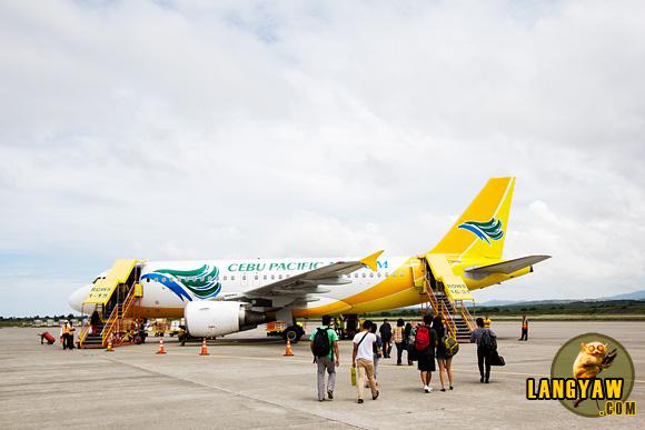 Flight going back to Cebu