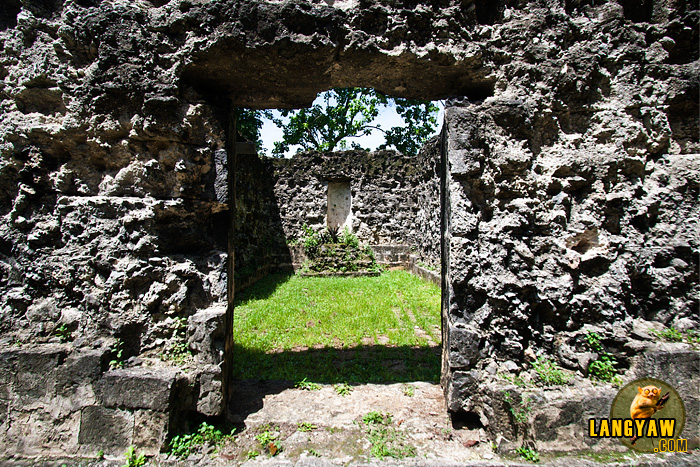 Just beside the present old church is the ruins of the old ermita and camposanto which may predate the church