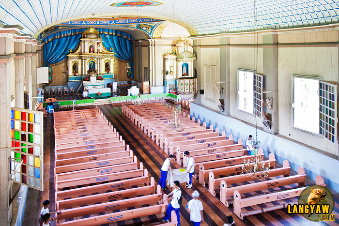 One of the finest Bohol churches built by the Augustinian Recollects in the 18th century still retails its wooden flooring and walls made from wood