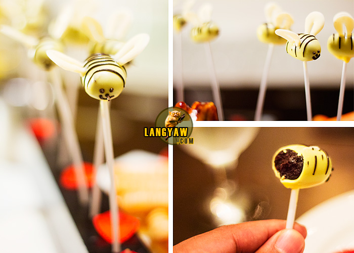 The bumblebee, beautiful and delicate to look at, one of the best chocolate desserts