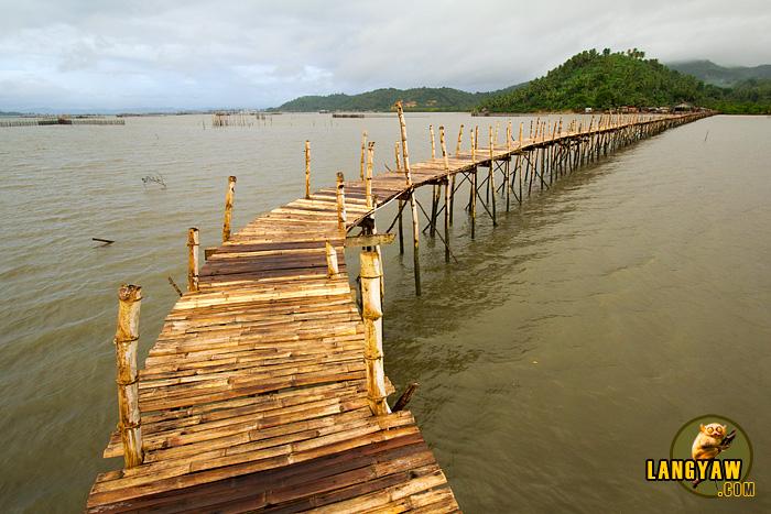 Pawa - Mabunga bamboo footbridge