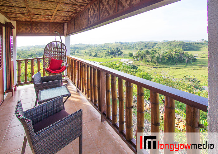 Just a stunning view of the countryside at our villa's veranda
