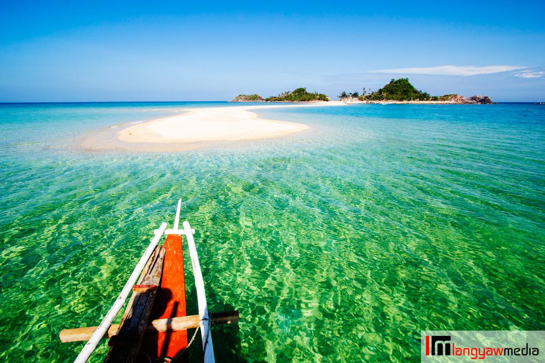 Bantigue Island sandbar