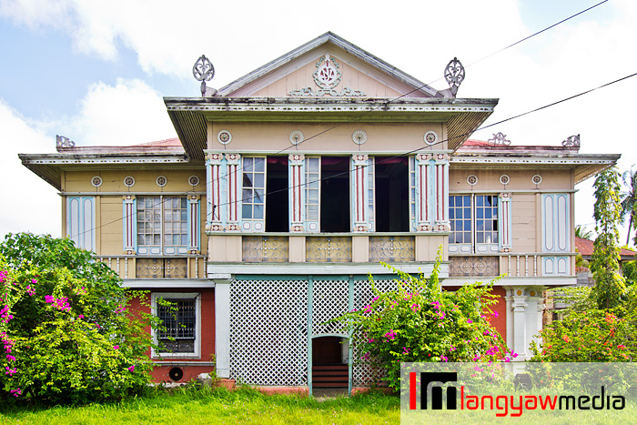 The Montinola Mansion in Jaro District, Iloilo City