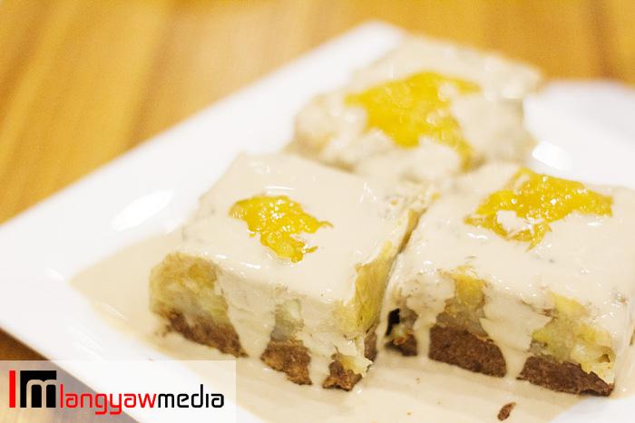 Banoffee saba, an interesting dessert