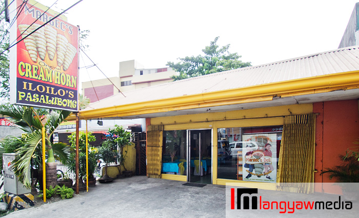 Margec's in Jaro, Iloilo City. This is just opposite the beautiful Montinola Heritage House