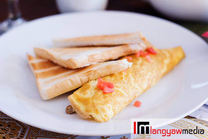 Early breakfast fare included in the daily rate