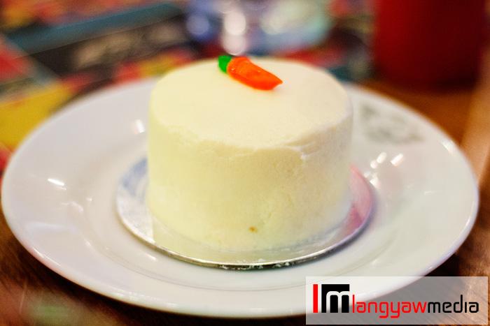 Petite carrot cake
