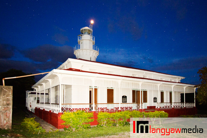 The Spanish era built lighthouse of Malabrigo, Lobo, Batangas where spirits are said to haunt