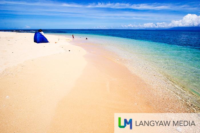 Really nice sand and beach