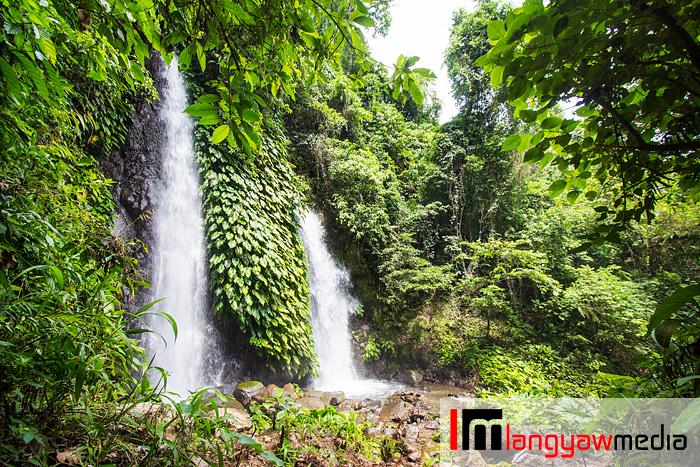 Itbug Falls in Lake Buhi