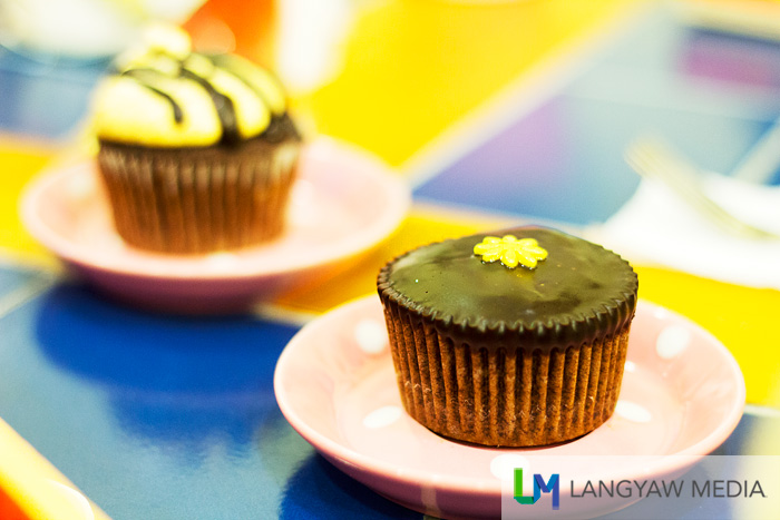 Yummy cupcakes served at the cafe