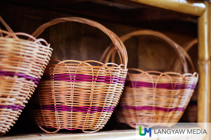 Baskets and other handwoven handicrafts