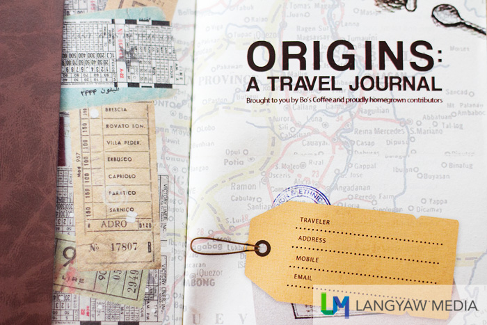 The Origins: A Travel journal